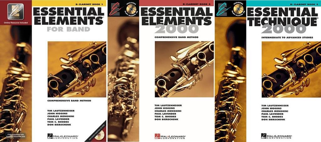 Essential Elements for Band Bb Clarinet Book 1 with EEi