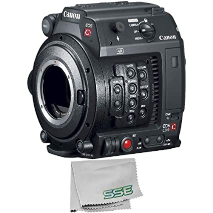 Amazon com : Canon EOS C200B Cinema Camera (Body Only) (EF