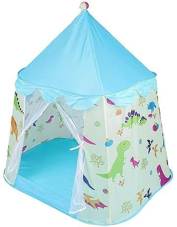 daf5602036c0 JKsmart Kids Playhouse Castle Tent Toddler Children Play Tent Dinosaur  Pop-up Girls Boys Tent