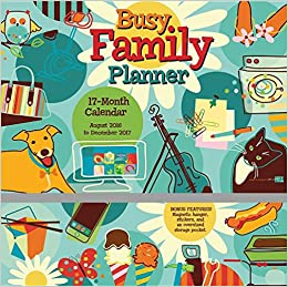 Busy Family Planner 2017 Wall Planner Calendar: Sybille ...