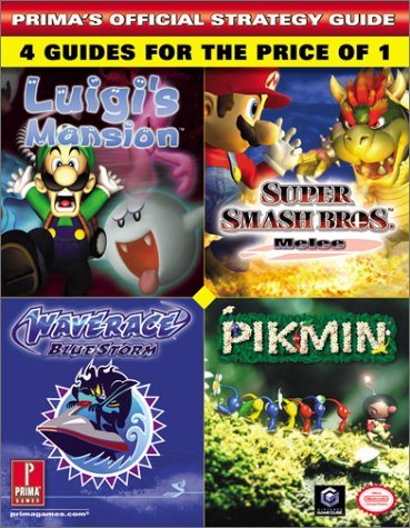 Price comparison product image Nintendo GameCube Collection: Luigi's Mansion / Super Smash Bros. Melee / Wave Race Blue Storm / Pikmin (Prima's Official Strategy Guide)