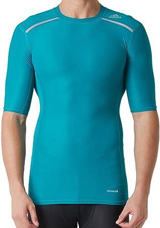 Chill Compresión Adidas Camiseta Hombre De Azul Tf Sl Para fqqXxwn56a