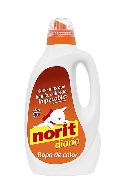 Norit Diario para Ropa de Color Detergente Líquido - 40 Lavados ...