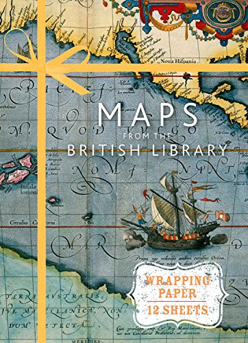 BEST! Maps from the British Library: Wrapping Paper Book (Wrapping Paper Books)<br />TXT