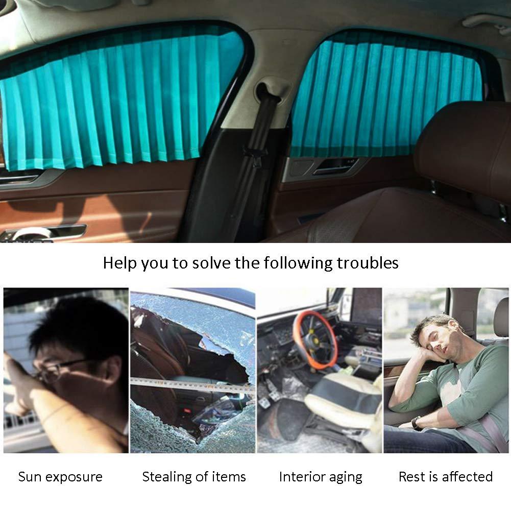 ZATOOTO Parasole de Auto 2 Pezzi Tendine Auto Magnetiche per Bloccare Raggi UV e Calore
