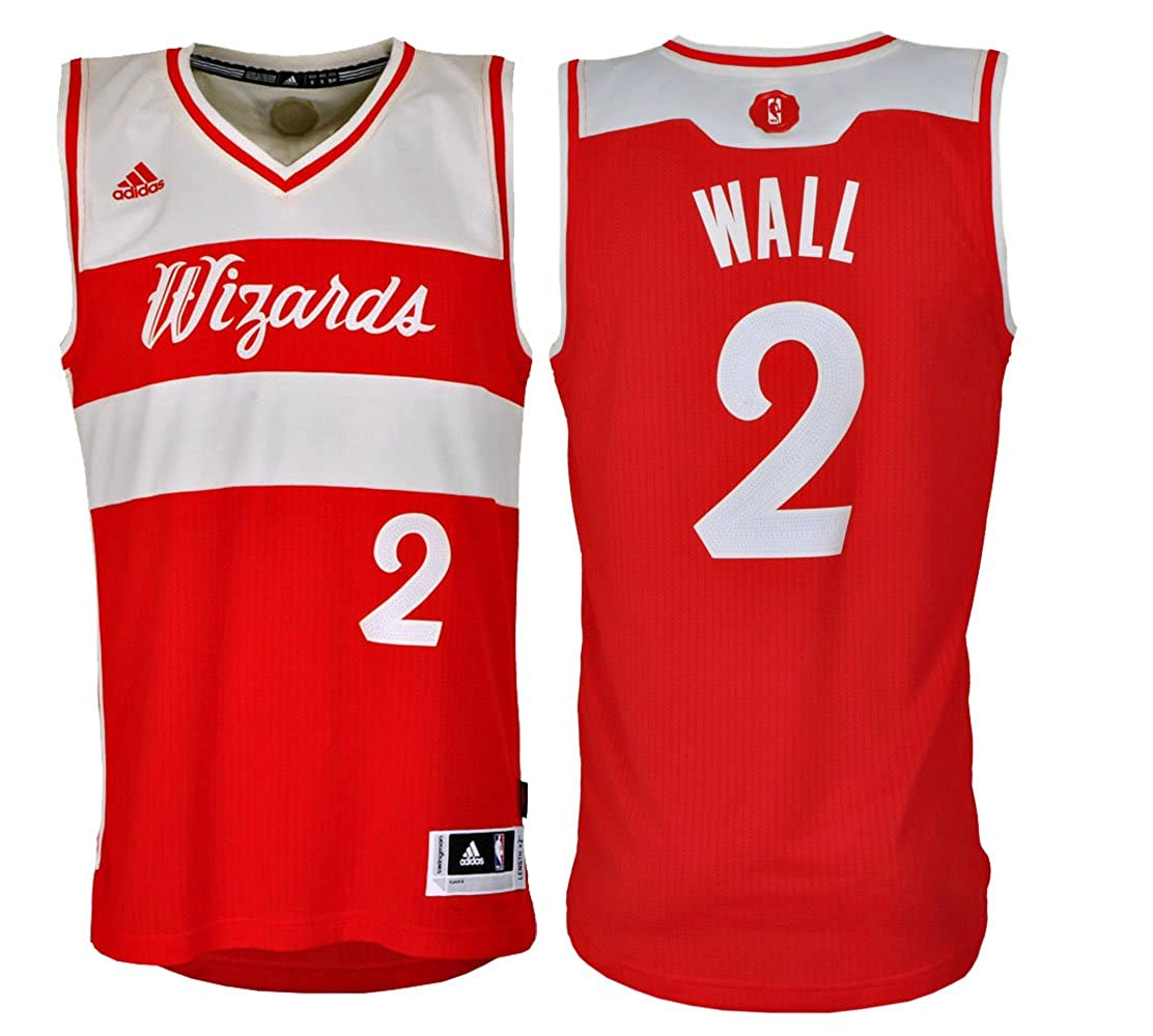 ADIDAS PERFORMANCE Maillot NBA SWINGMAN JOHN WALL: Amazon.es: Deportes y aire libre
