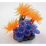 Lesypet Aquarium Fish Tank Silicone Sea Anemone Artificial Coral Ornament