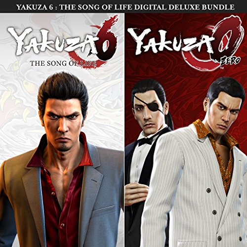 Yakuza 6: The Song of Life Digital Deluxe Preorder - PS4 [Digital Code] by Sega