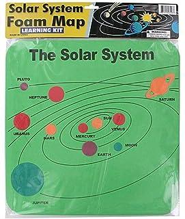 FindingKing 72 mousse du système solaire