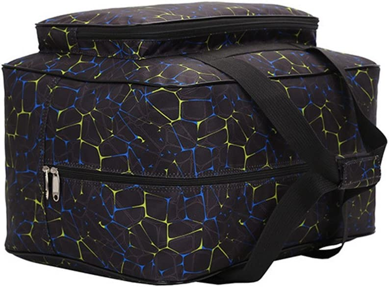 funda de transporte acolchada universal con bolsillos y asas Bolso para M/áquina de Coser Black HomeYoo Bolsa de nylon universal