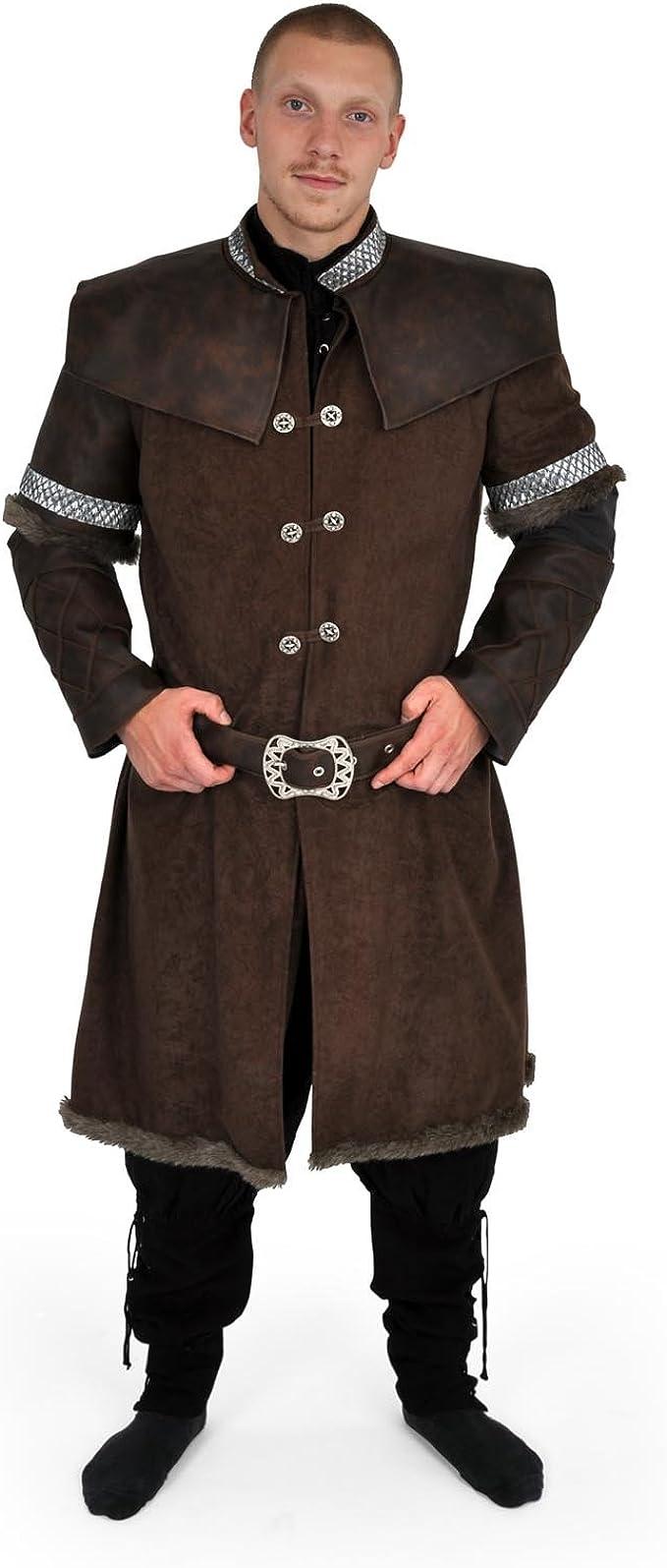 Rol en vivo - Abrigo de enanos - con cinturón - Disfraz medieval ...