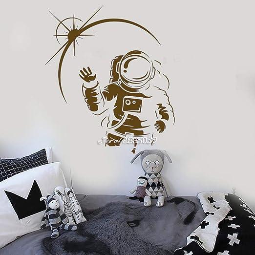 guijiumai Cosmonauta Espacio Vinilo Adhesivos de Pared ...