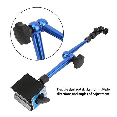 Support de base magn/étique support de base magn/étique Support pour comparateur /à cadran /à levier base magn/étique flexible de conception /à rainure en V haute stabilit/é