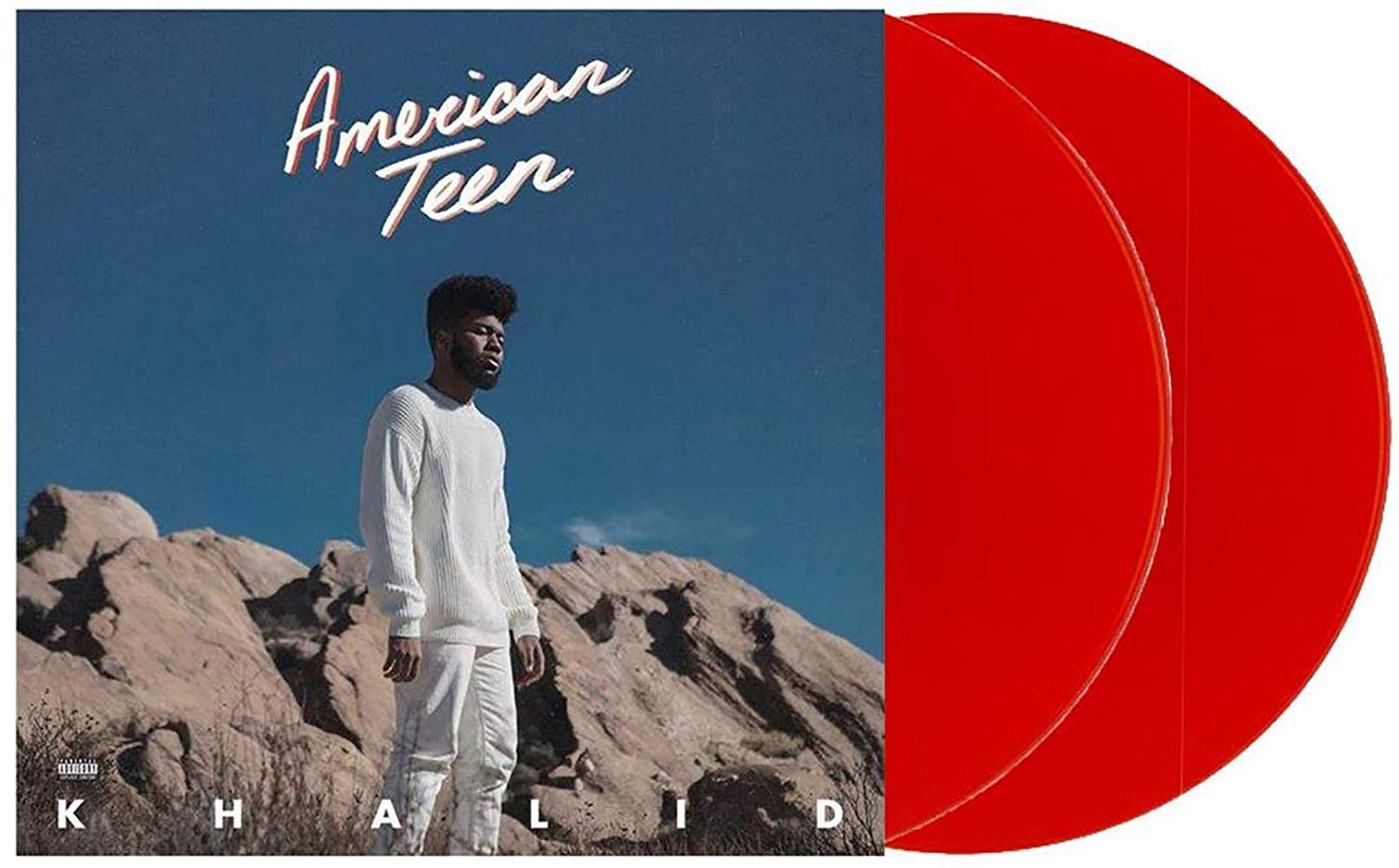American Teen - Exclusive Limited Edition Translucent Red 2XLP Vinyl (#/15000 [VG+/NM- CONDITION] by RCA.