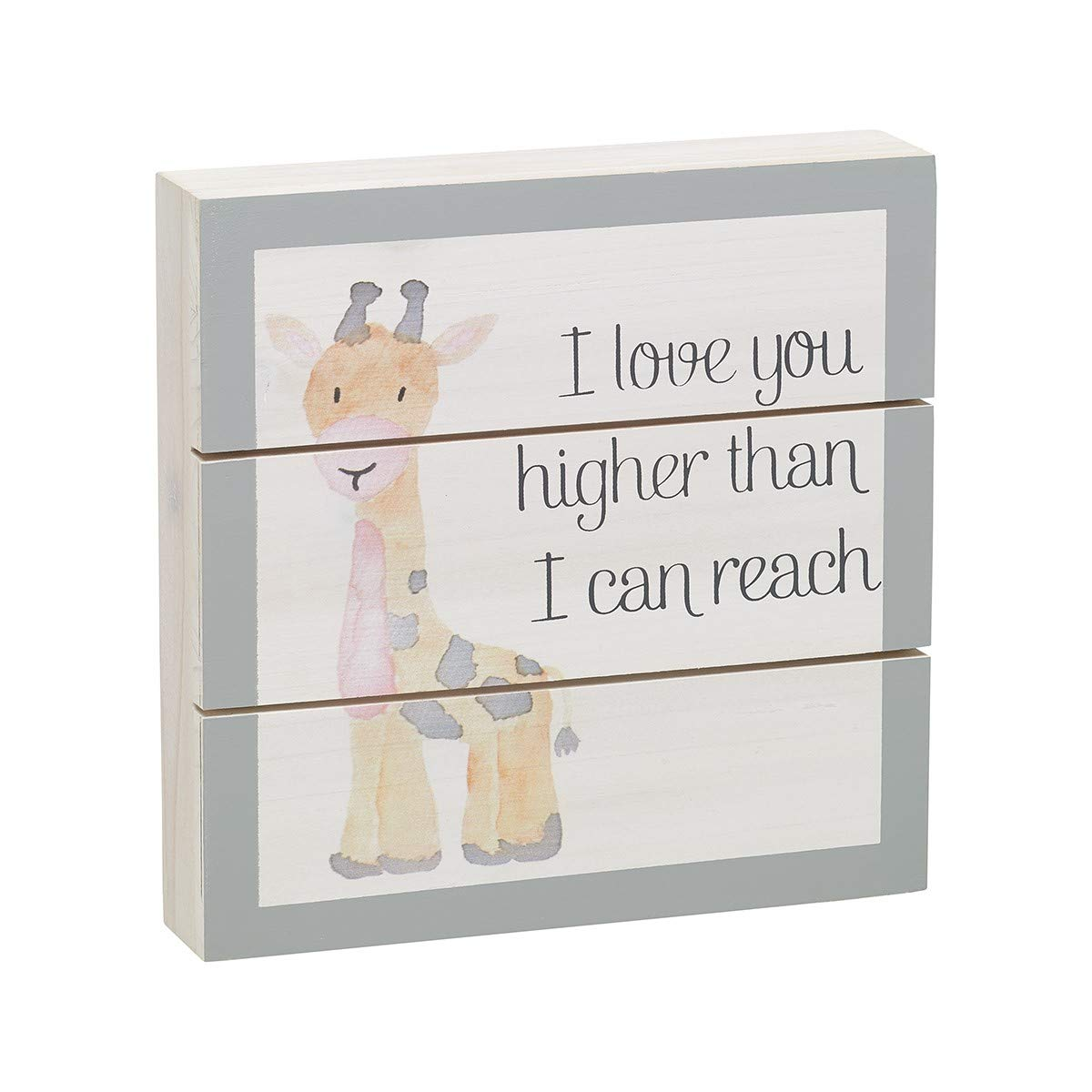 7 Collins Painting I Love You Higher Than I Can Reach Wood Pallet Sign