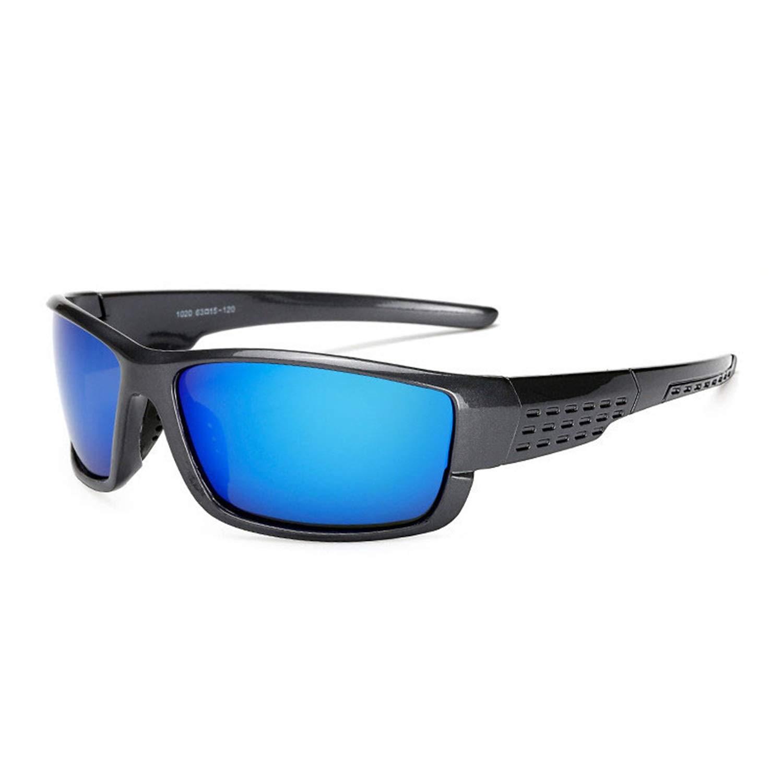 Amazon.com: JOMYY Square Polarized Sunglasses Men Women ...