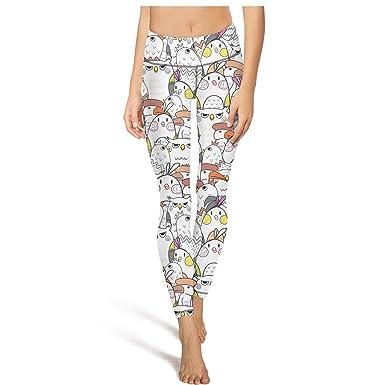 Amazon Com Night Screech Owl Art Gym Pants Gym Clothes For Women