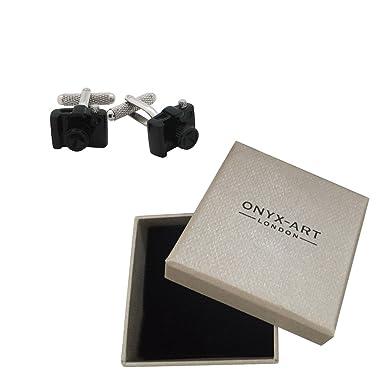 Gemelos de la cámara réflex digital y caja de regalo: Amazon.es ...