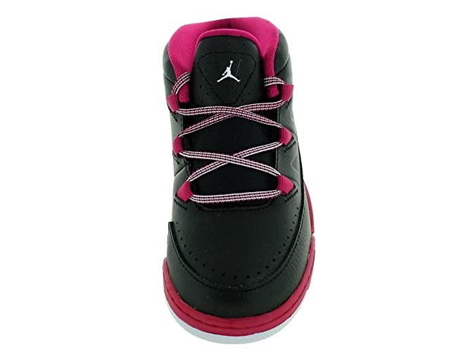 88083502abae Amazon.com  Nike Jordan Toddlers Jordan Deluxe Gt Black White Sport Fuchsia Basketball  Shoe 9 Infants US  Shoes