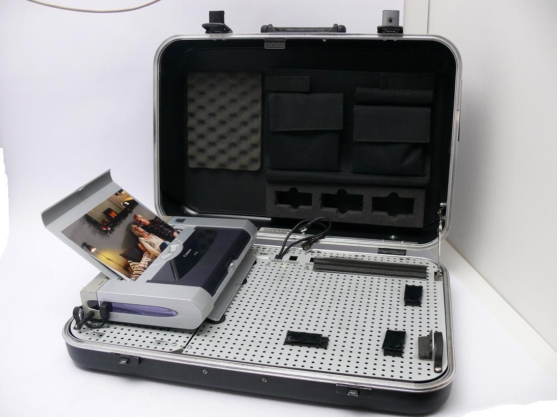 Canon - Maletín para portátil e impresora móvil Canon Pixma iP90 ...