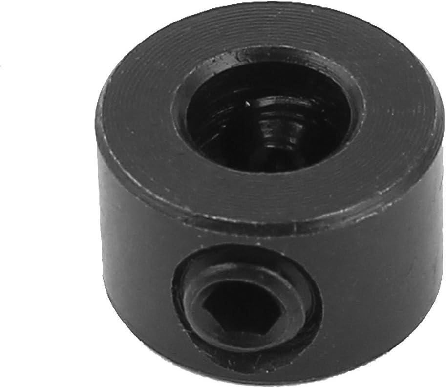 Aexit 6mm Internal Dia Woodworking Drill Bit Depth Stop Collar Black 90a0102272807013172ee0b5358fcf8d