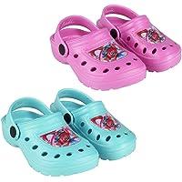 takestop® Ciabatte Crocs Pantofole Mare Gomma Antiscivolo Comode Poppy Trolls Beach Clogs Cartone Animato Piscina Mare Bambina Bambino Unisex