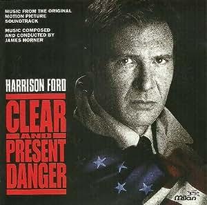 Original Soundtrack James Horner Clear Amp Present Danger