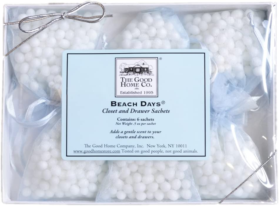 The Good Home Co Beach Days Closet and Drawer Sachets, 0.5 Ounce