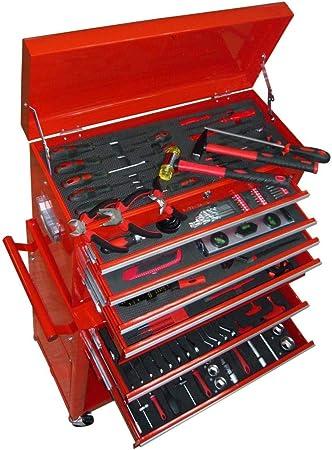vidaXL Carrito Herramientas 7 Cajones Bricolaje Taller Caja de Almacenamiento: Amazon.es: Bricolaje y herramientas