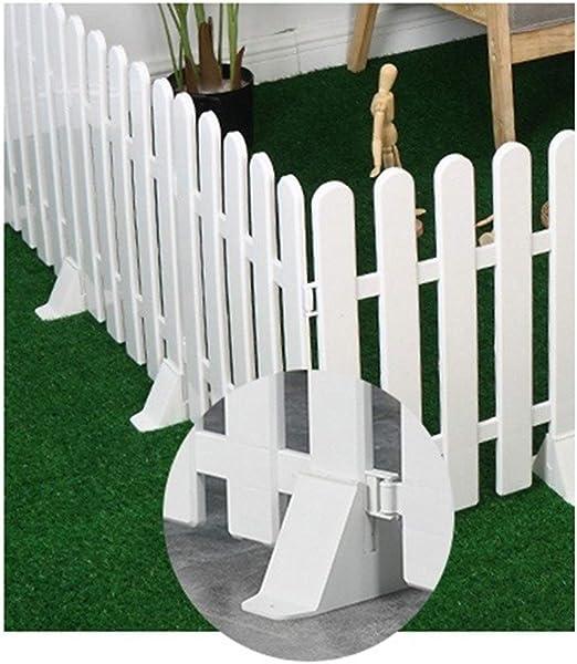 ZHANWEI Borde De Jardín Cerca De Piquete, Barandilla Protectora De Plástico PVC para Jardín Fronteras Jardín Patio Decorativo, 5 Tamaños (Color : 40x50cm, Size : 10 PCS): Amazon.es: Jardín