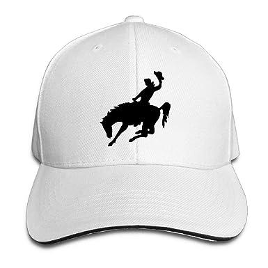 Ausy Man Boys Adjustable Truck Baseball Caps Sandwich Horse Riding ... 69a7dd5959a