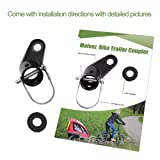 Mofeez Bike Bicycle Trailer Coupler Attachment