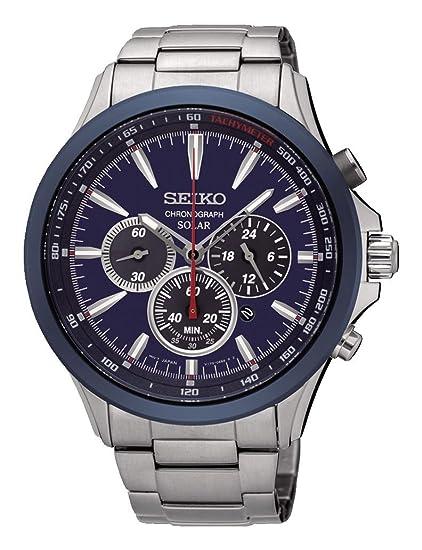 Seiko Solar SSC495P1 Reloj para Hombre