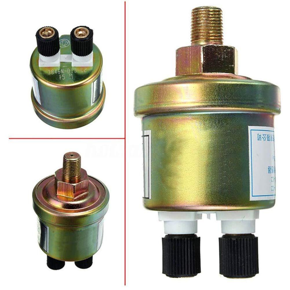 Instrument Transmitter Schalter 1 St/ück 1//8 NPT Kikier Motor/öl Drucksensor /Öldrucksensor