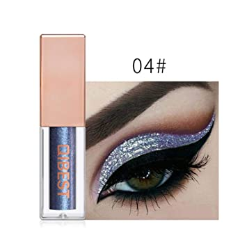 Beauty Essentials Eye Shadow 2019 New Six Colors Diamond Sequins Eyeshadow Palette Powder Makeup Glitter Long Lasting Eye Shadow Shimmer Metallic Cosmetics Perfect In Workmanship