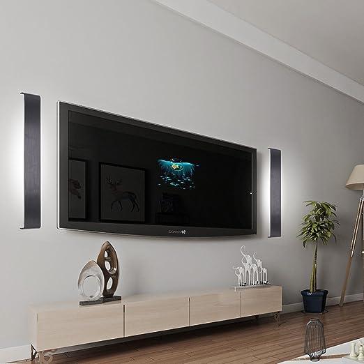 36W LED Wandleuchte Farbwechsel Wandlampe 3in1 Treppenleuchten Innenleuchte  Effektleuchte Modern Markantes Design Energiespar Wohnzimmer Geeignet Für  ...
