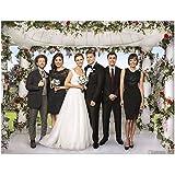 Bones David Boreanaz and Emily Deschanel Tie the Knot Wedding 8 x 10 inch photo