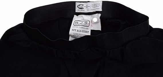 White RJS Safety 800010004 Bottom and Top Nomex Underwear Set Medium Size