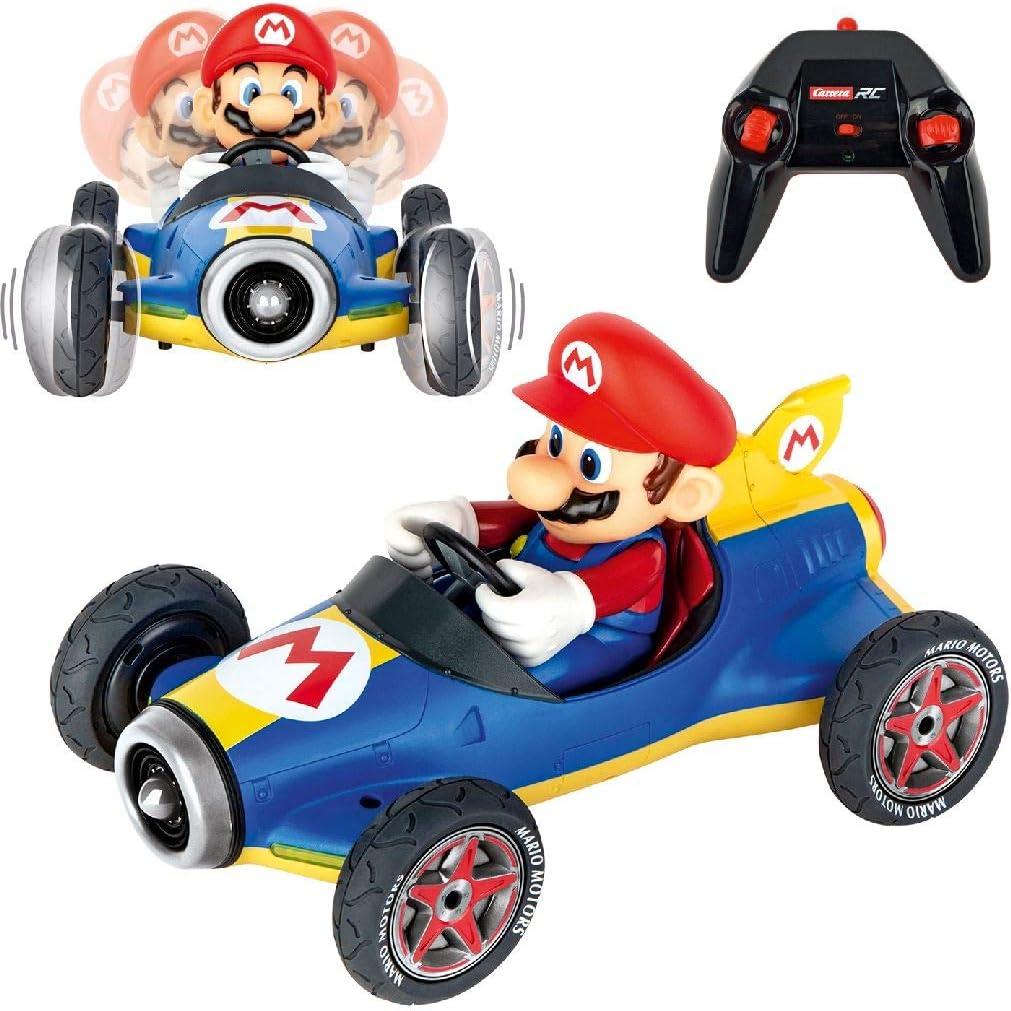 Carrera- 2,4GHz Kart Mach 8, Mario Juguete Coche, 6+ Años, Multicolor (Stadlbauer 370181066)