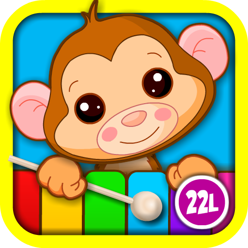 Abby Monkey Kids Musical Puzzle Interactive Learning Game: Play & Sing Songs (Old MacDonald, Bingo, Five Little Monkeys, Twinkle, Twinkle Little Star) and Learn Music with Toy Animal Piano for Baby, Toddler, Preschool, and Kindergarten Explorers ()