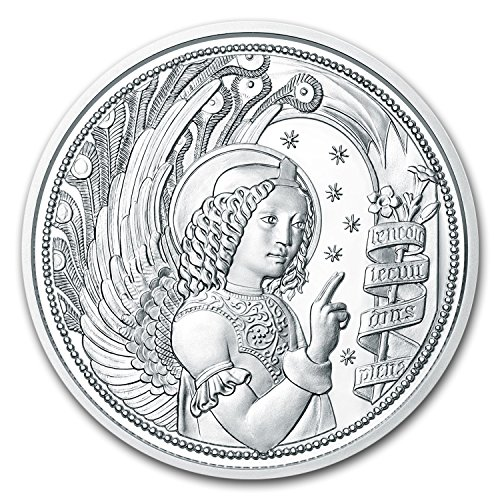 - 2017 AT Austria Silver ?10 Guardian Angels (Gabriel) Silver Brilliant Uncirculated