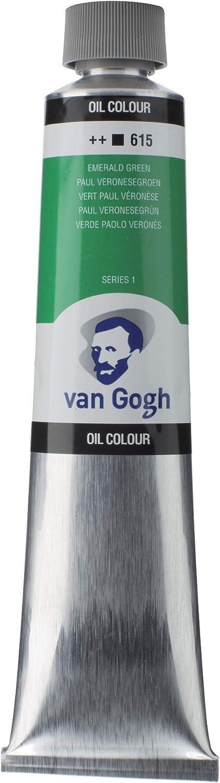 Van Gogh Aceite DE Pintura EMER, Verde esmeralda, talla única