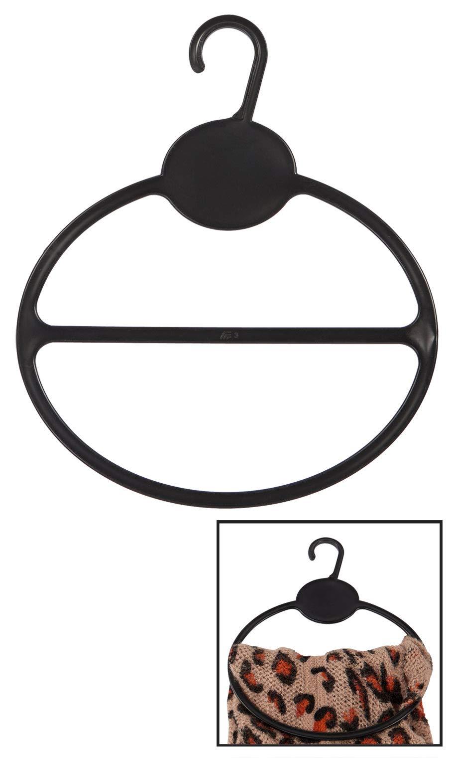 Black Scarf Hanger - Pack of 50 by SSWBasics