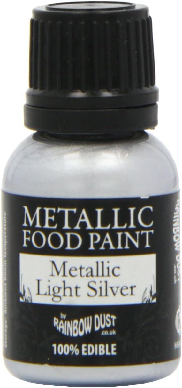 Rainbow Dust 1 X Silver Food Paint