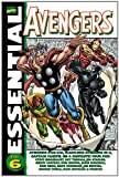 Front cover for the book Essential Avengers, Volume 6 by Steve Englehart