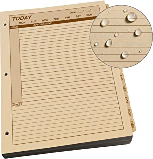 """product image for Rite In The Rain Rite in the Rain Weatherproof Daily Calendar Set, 8.5"""" x 11"""", Tan Sheets, 365 Days (No. 9260D-MX)"""