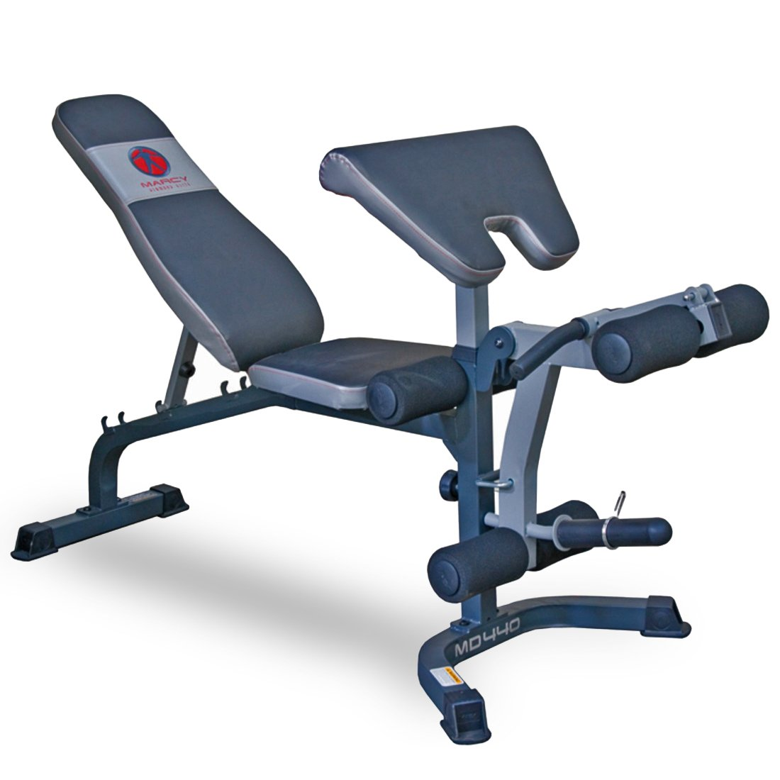 Marcy Diamond Elite Md 440 Weight Bench With Preacher Pad U0026 Leg