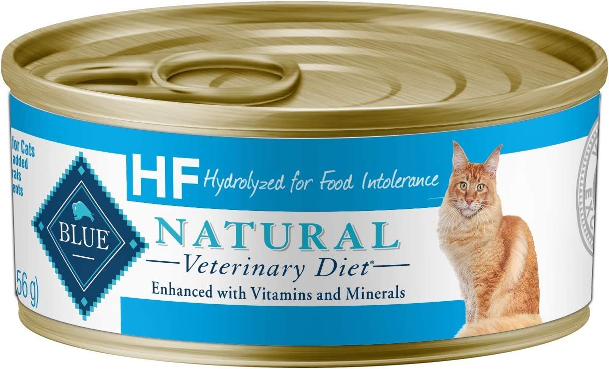 Blue Buffalo Natural Veterinary Diet Hydrolyzed for Food Intolerance for Cats 5.5oz