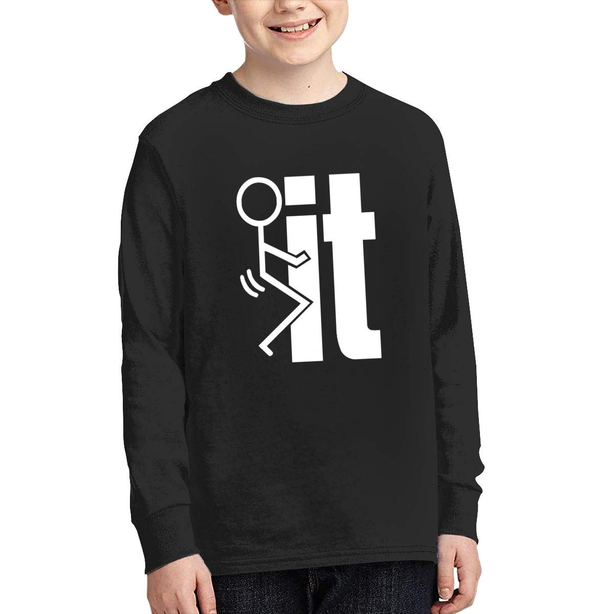 Onlybabycare Fuck It Youth Boy Girl Athletic Pullover Sweatshirt Cute Shirt