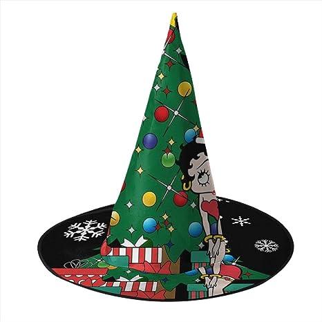 KUKHKU Betty Boop Alrededor del árbol de Navidad, Sombrero de ...
